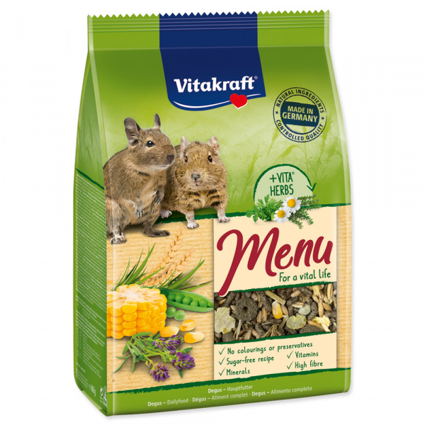 Menu vitakraft degus 600g