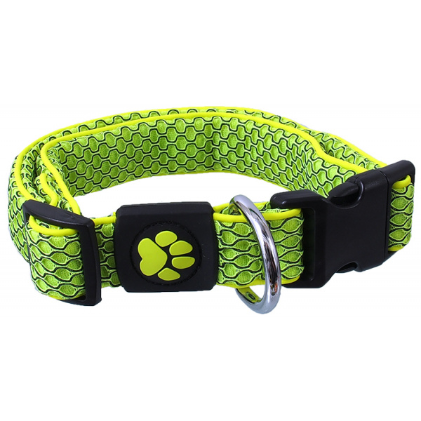 Obojek active dog mellow xl limetka 3,8x45-70cm
