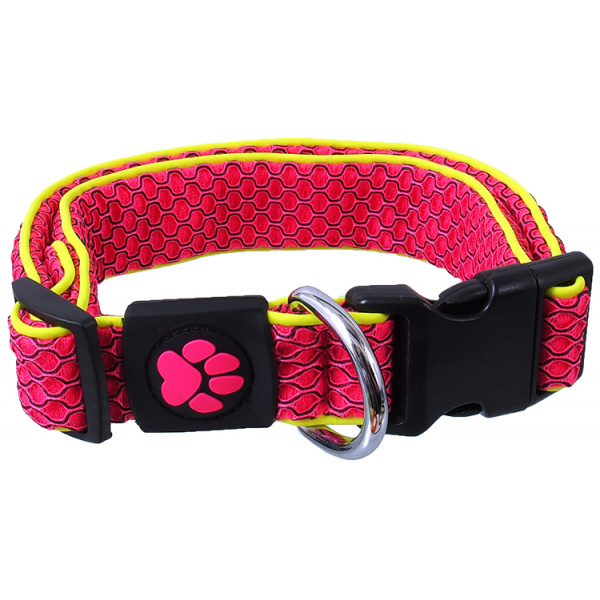 Obojek active dog mellow xl růžový 3,8x45-70cm