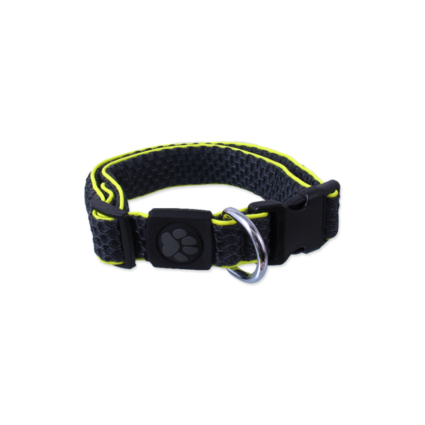 Obojek active dog mellow xl šedý 3,8x45-70cm