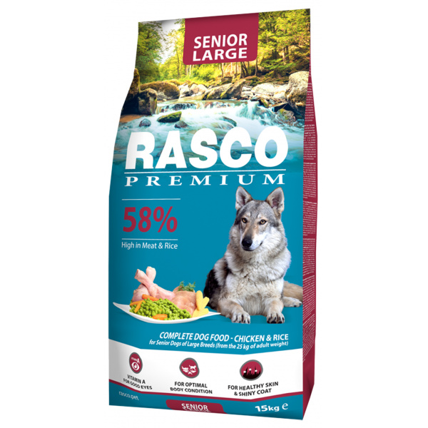 Rasco premium senior large 15kg
