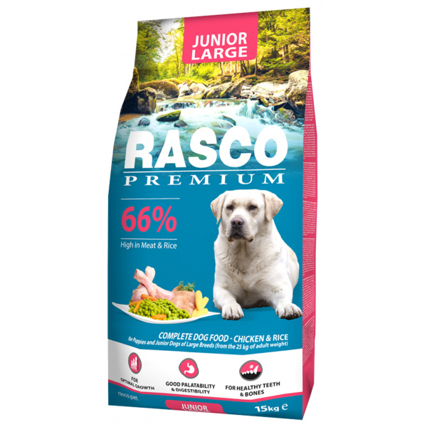 Rasco premium puppyjunior large 15kg