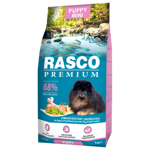 Rasco premium puppyjunior small 1kg