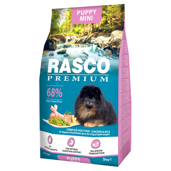 Rasco premium puppyjunior small 3kg