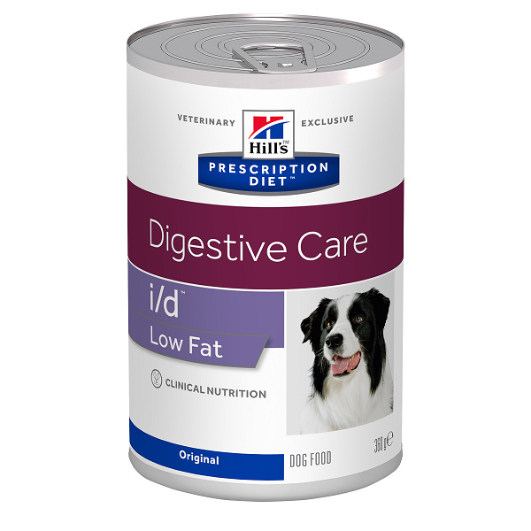 Konzerva HILL`S Prescription Diet id Canine Low Fat 360g