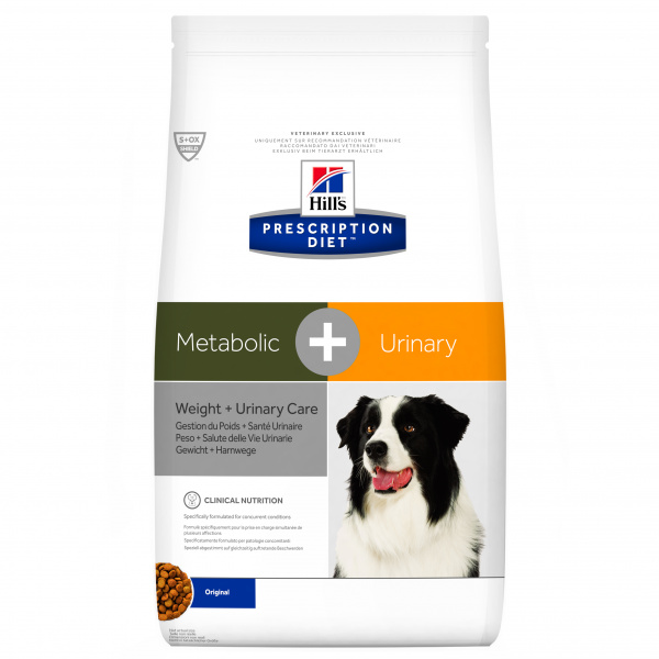 Hill´s prescription diet canine metabolicurinary 12kg