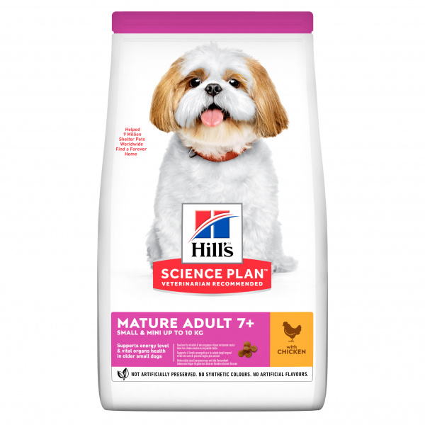 Hill´s Science Plan Canine Mature Adult 7 Small  Mini Chicken 6kg