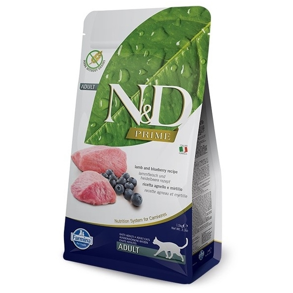 ND Prime Cat Adult Lamb  Blueberry 5kg