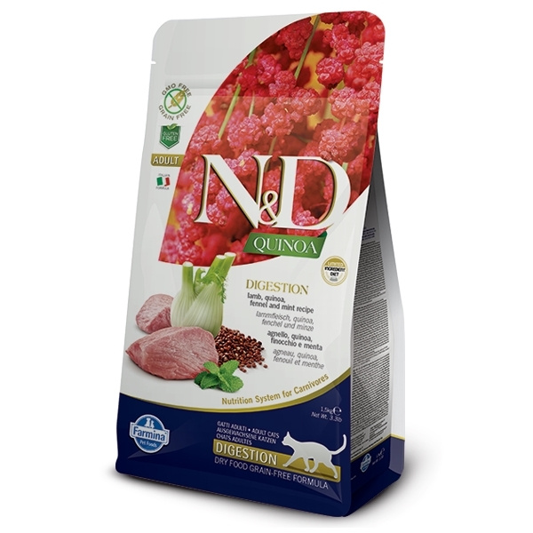 Nd quinoa cat adult digestion lamb  fennel 5kg