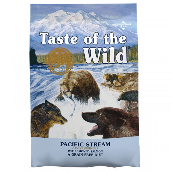 Taste of the wild pacific stream canine 12,2kg