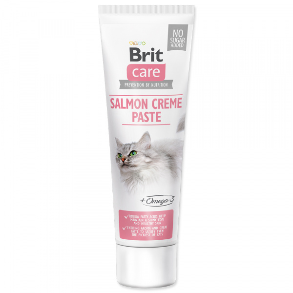 Pasta brit care cat paste salmon creme 100g