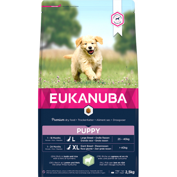 Eukanuba Puppy Large  Giant Lamb 12kg