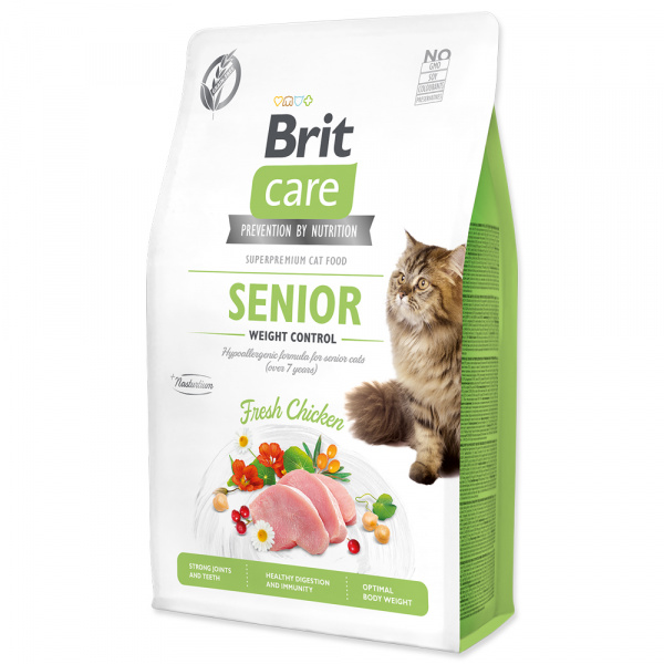 Brit Care Cat Grain-Free Senior Weight Control 2kg