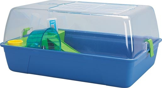 Box SAVIC Rody Hamster modrý