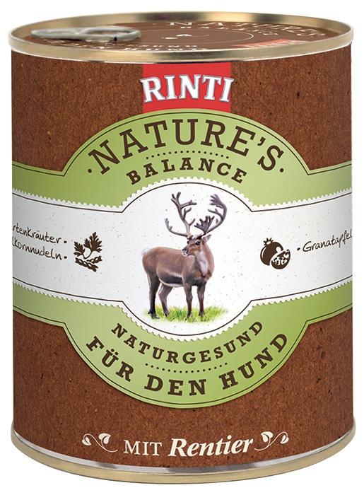 Konzerva RINTI Nature's Balance sob + těstoviny + vejce 800g