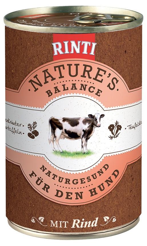 Konzerva RINTI Nature's Balance hovězí + brambory + vejce 400g