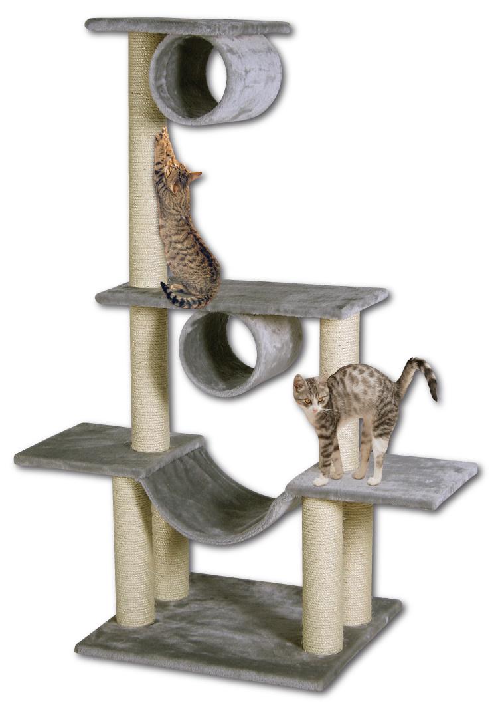 Odpočívadlo MAGIC CAT Iveta šedé 141 cm