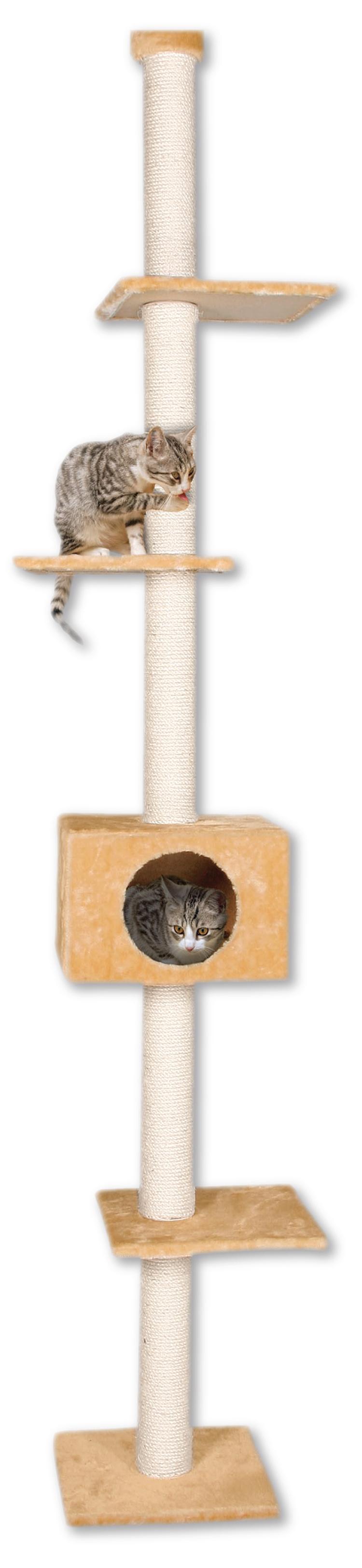 Odpočívadlo MAGIC CAT Adela béžové 263 cm