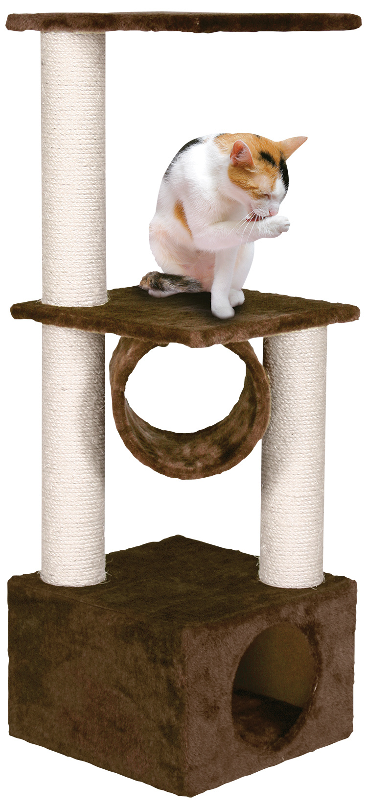 Odpočívadlo MAGIC CAT Tamara hnědé 103 cm