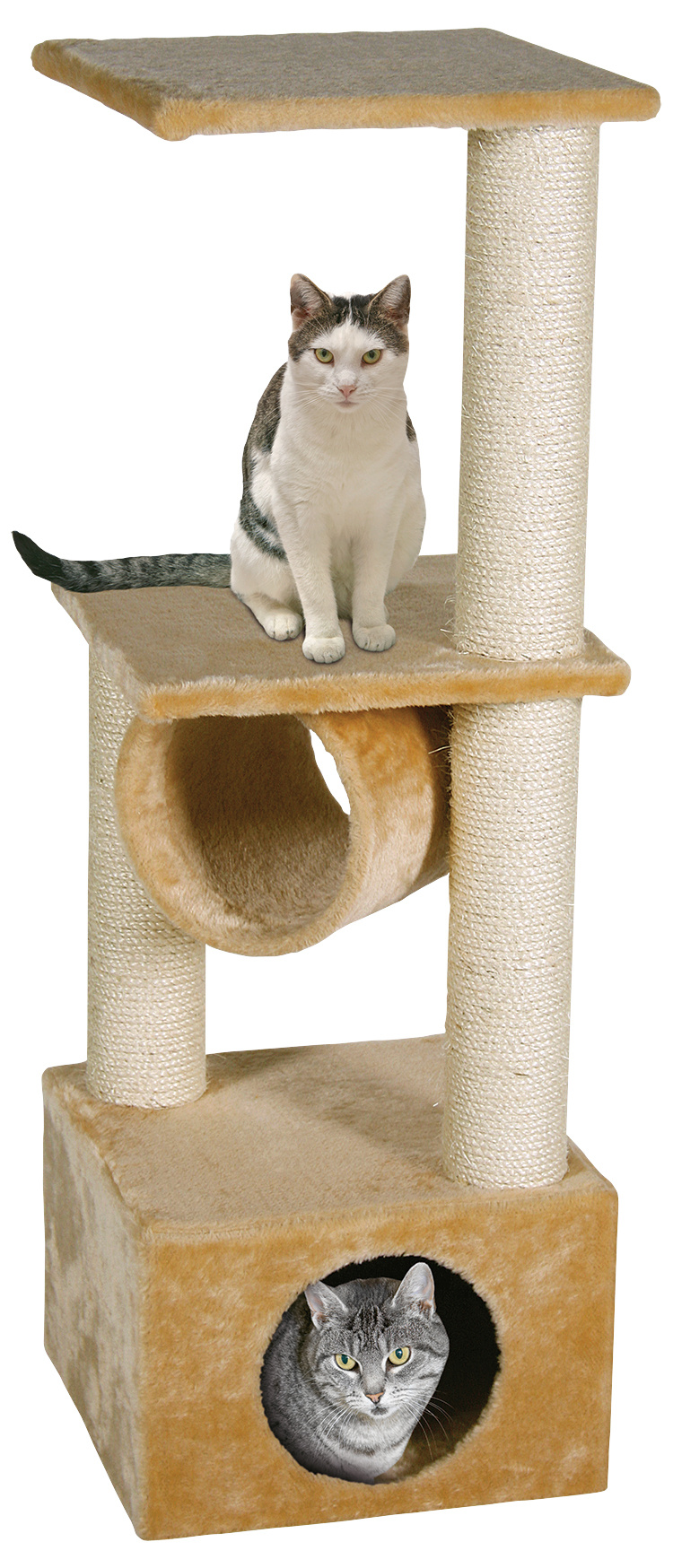 Odpočívadlo MAGIC CAT Tamara béžové 103 cm