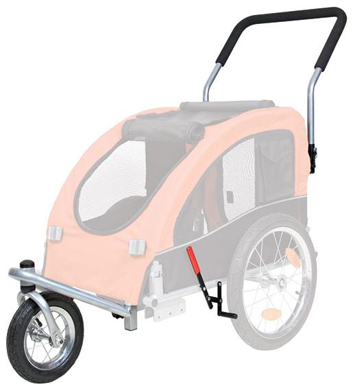 Díl náhradní Trixie přední kolo a madlo k vozíku za kolo pro psy