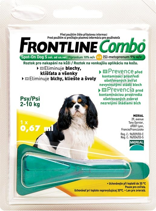 Frontline Combo Spot-on Dog malý