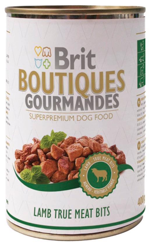 BRIT Boutiques Gourmandes Lamb True Meat Bits 400g