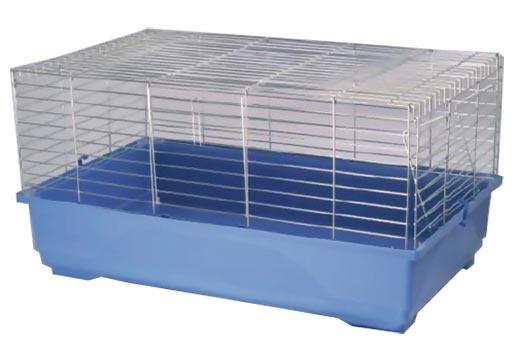 Klec SMALL ANIMAL K100N chromová + modrá