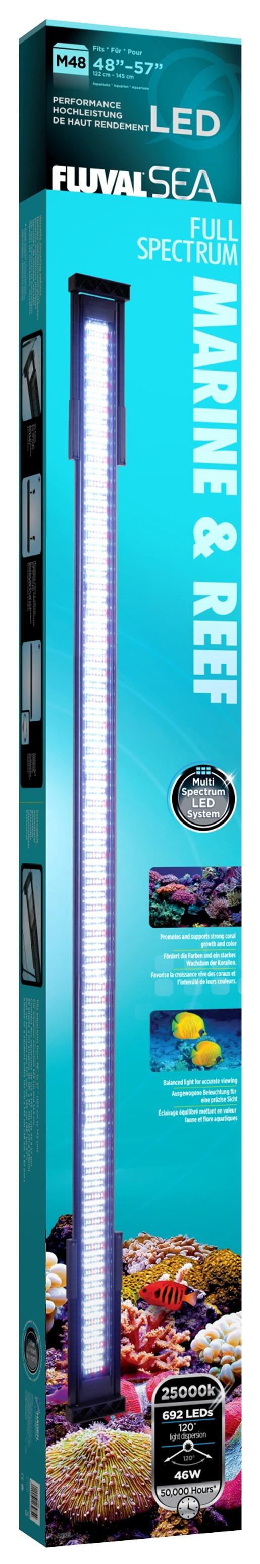 Osvětlení FLUVAL MARINE & REEF LED 122 - 145 cm 46W