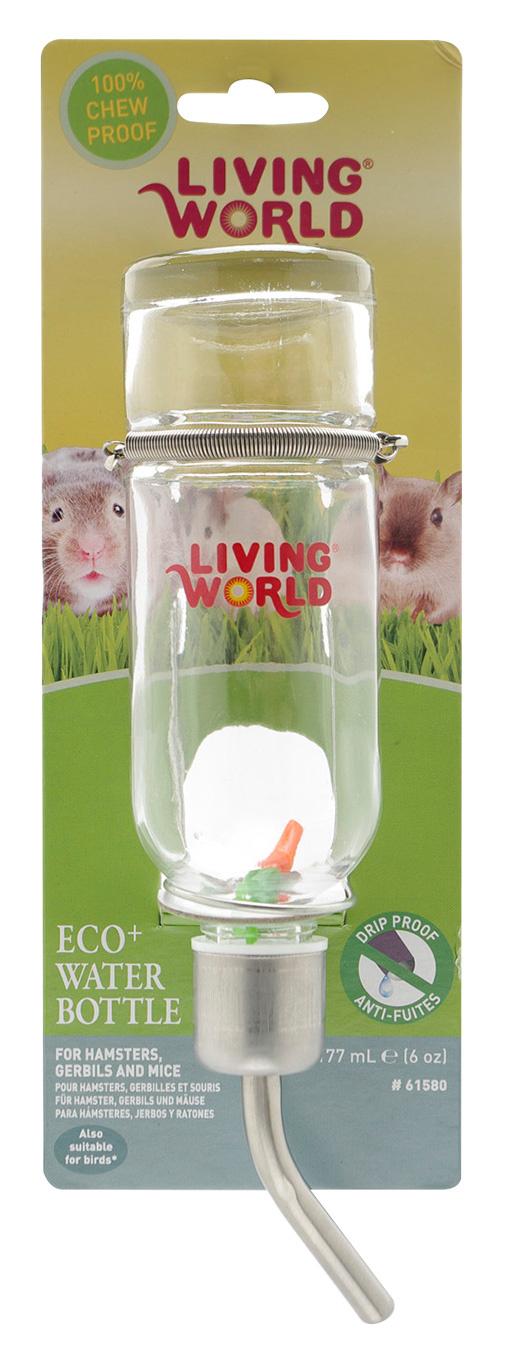 Napáječka LIVING WORLD Eco skleněná 177ml