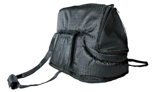 Taška přenosná pro psy Trixie Riva 26*30*45cm černá
