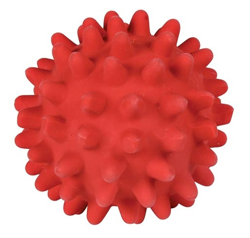 Hračka pro psy Trixie míček s bodlinami se zvukem 6cm