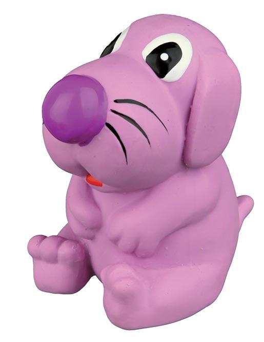 Hračka pro psy Trixie pes latexová se zvukem 8cm