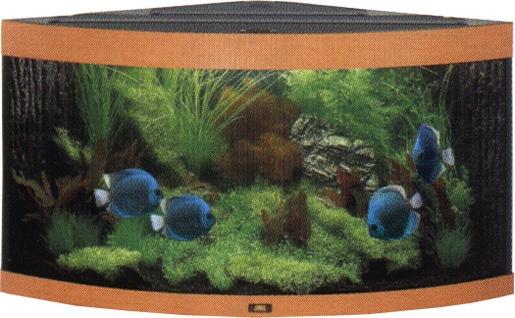 Akvárium set JUWEL Trigon 190 tmavě hnědé 190l