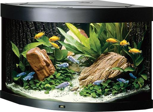 Akvárium set JUWEL Trigon 190 černé 190l