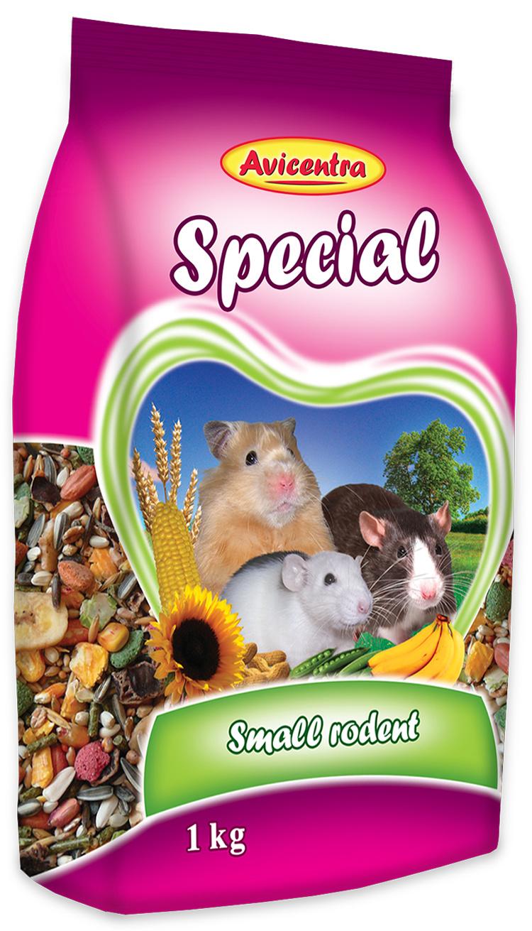 Krmivo AVICENTRA speciál pro malé hlodavce 500g