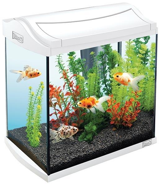 Akvárium set TETRA AquaArt bílý 30l