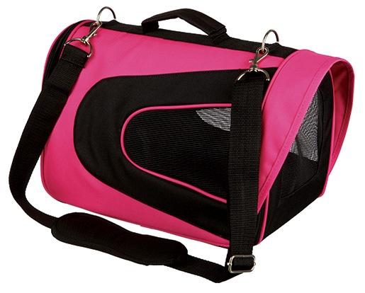 Taška pro psy Trixie Alina 22*23*35cm růžovo-černá