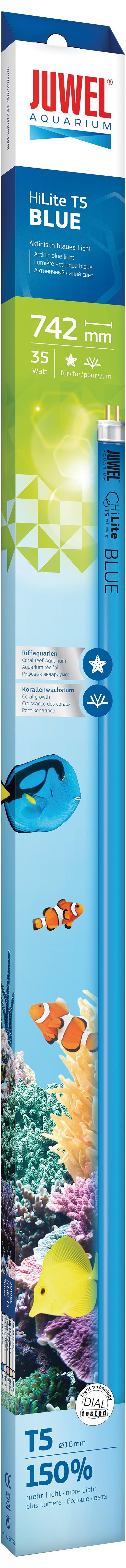 Zářivka JUWEL HiLite Blue T5 - 74,2 cm 35W