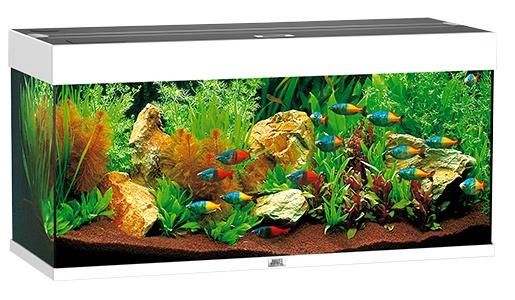 Akvárium set JUWEL Rio 180 bílé 180l