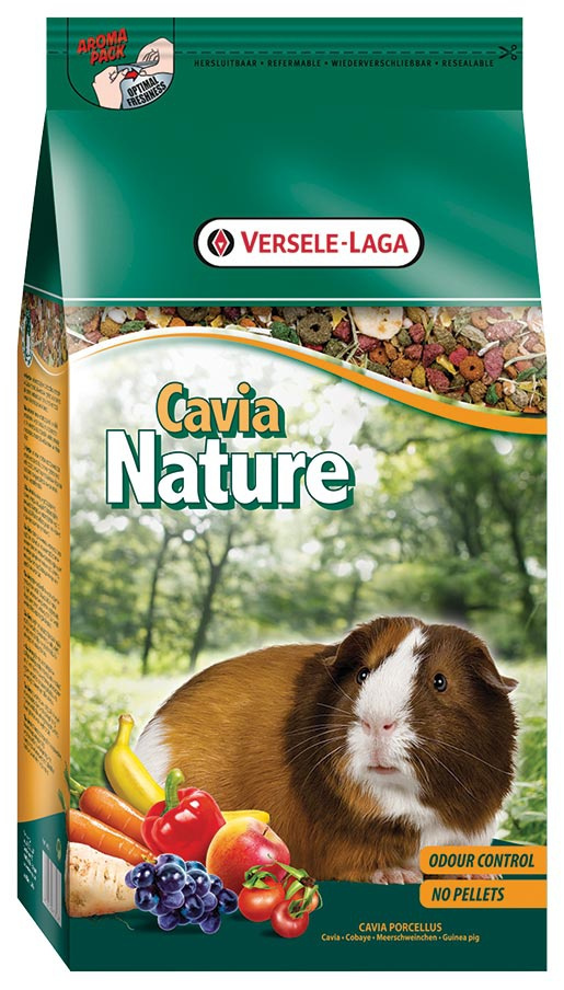 Krmivo VERSELE-LAGA Nature pro morčata 2,5kg