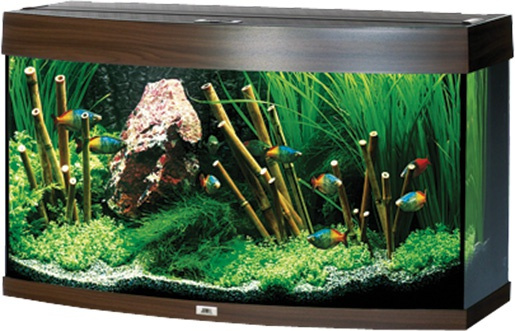 Akvárium set JUWEL Vision 180 tmavě hnědé 180l