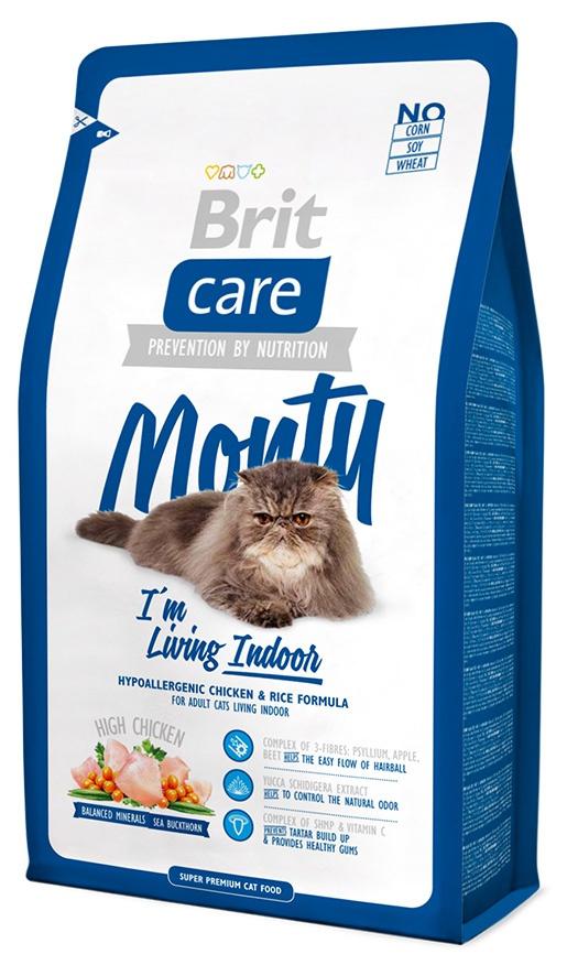 BRIT Care Cat Monty I'm Living Indoor 400g