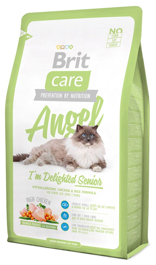 BRIT Care Cat Angel I'm Delighted Senior 2kg
