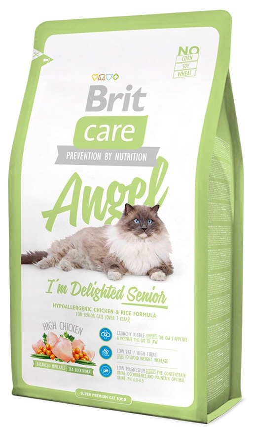 BRIT Care Cat Angel I'm Delighted Senior 400g