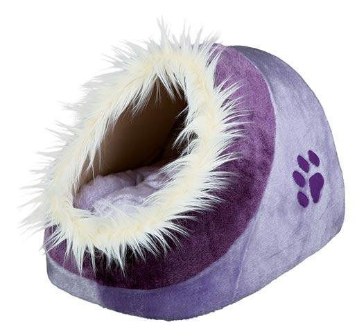 Pelíšek pro psy Trixie Minou fialová 35*26*41cm
