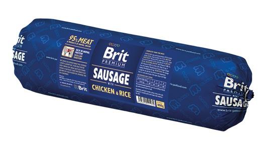BRIT Sausage with Chicken 800g
