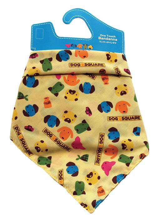 Šátek DOG SQUARE bandana M