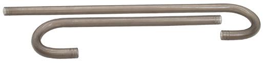 Náhradní trubice s ohybem ELITE Crystal Flo 60, 80 2ks
