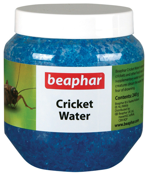 Krmivo BEAPHAR Cricket water doplňkové pro cvrčky 240g